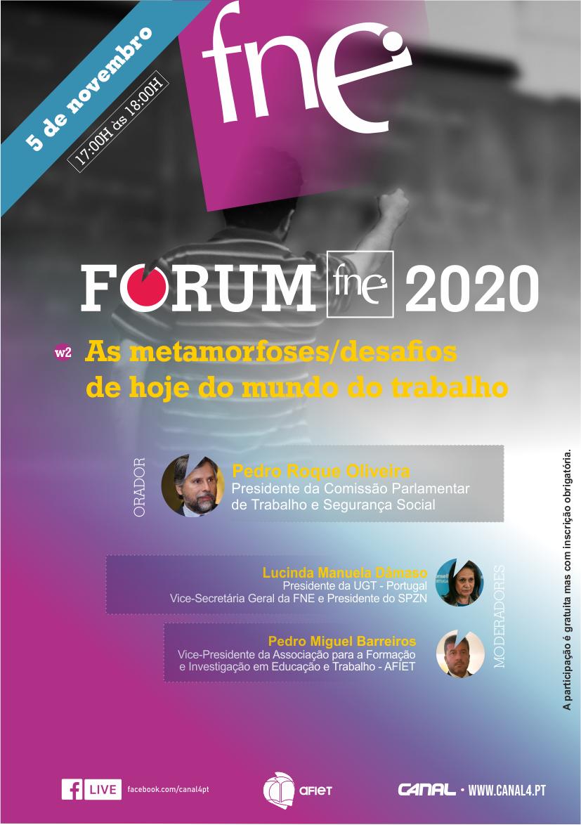 Fórum FNE 2020