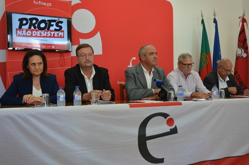 Conferência de Imprensa FNE - 8 de setembro de 2017