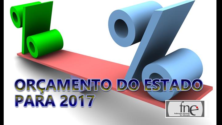 Orçamento do Estado para 2017