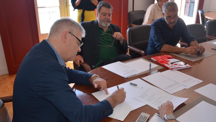 Acordo de revisão das tabelas salariais do CCT com a CNIS