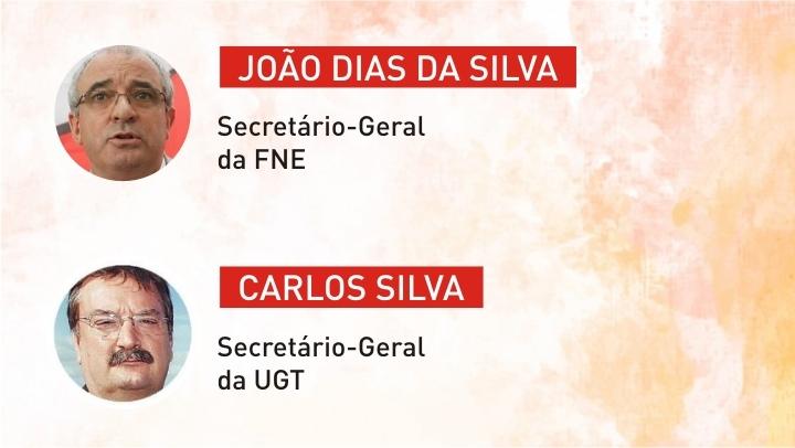Secretários-Gerais da FNE e UGT visitam duas escolas no Porto
