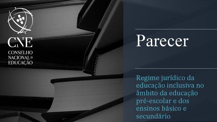 Parecer - Regime jurídico da educação inclusiva no âmbito da educação pré-escolar e dos ensinos básico e secundário