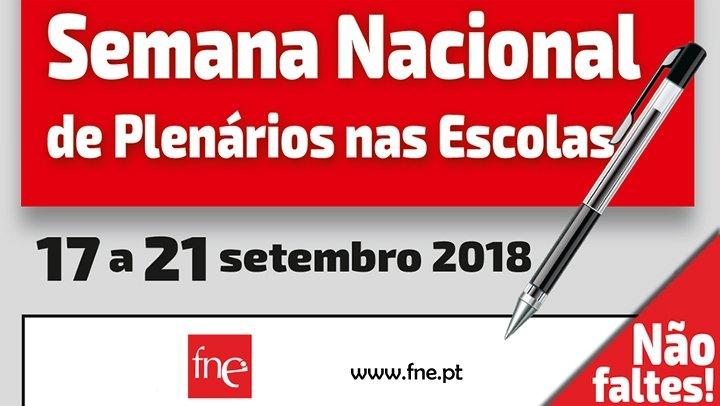 Semana Nacional de Plenários nas Escolas