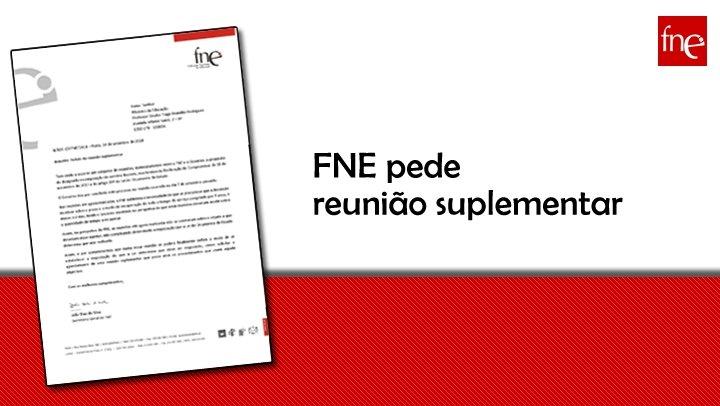 FNE pede reunião suplementar
