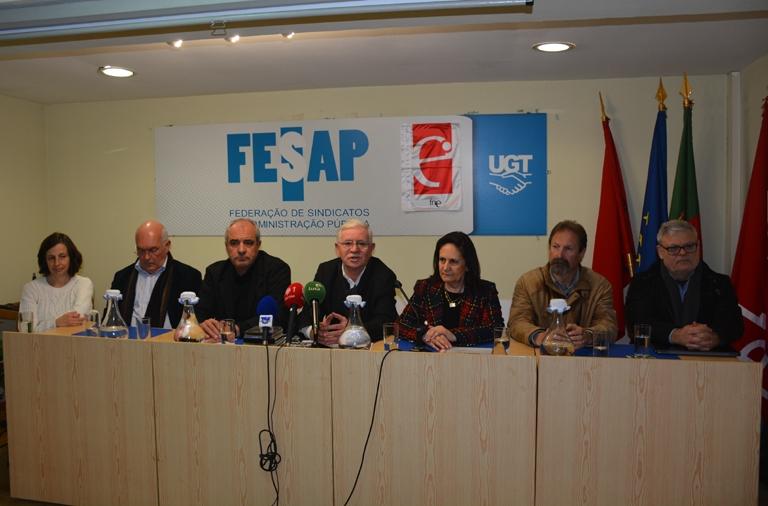 FNE E FESAP anunciam Concentração e Greve Nacional da Administração Pública para 14 e 15 de fevereiro