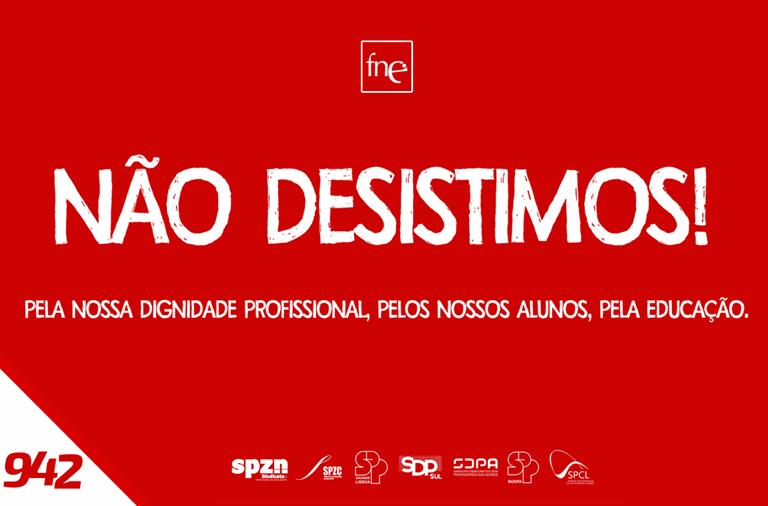 FNE lança campanha de afirmação da exigência do reconhecimento do trabalho dos docentes portugueses