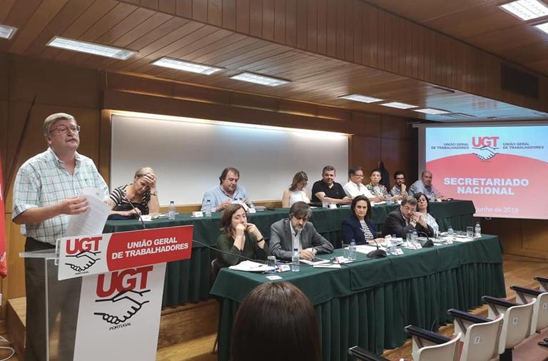 Resolução do Secretariado Nacional da UGT