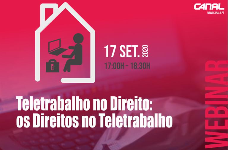 Webinar 'Teletrabalho no Direito: Os direitos no teletrabalho'