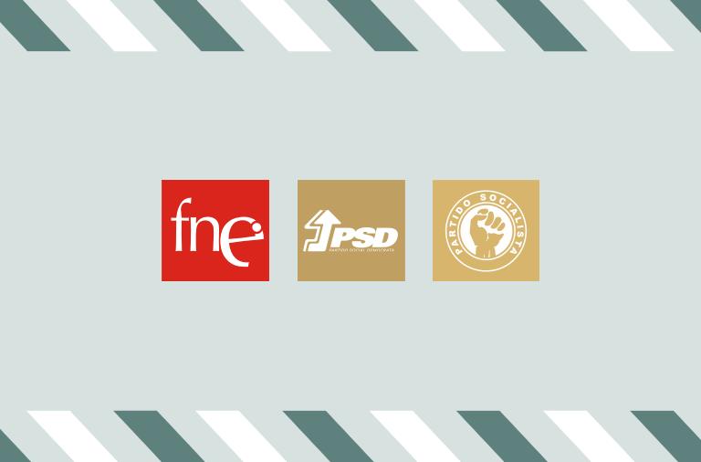 FNE reúne com PSD e PS para denunciar ausência de medidas na Educação
