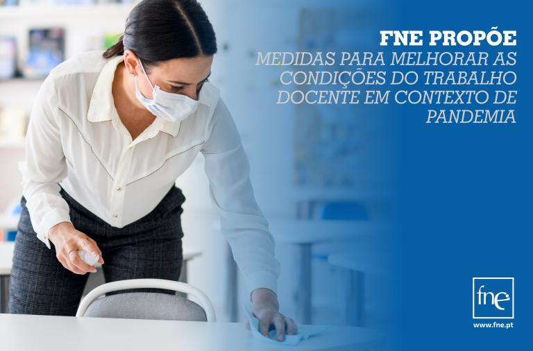 FNE solicita reunião ao ME para apresentar medidas para melhorar as condições do trabalho docente em contexto de pandemia