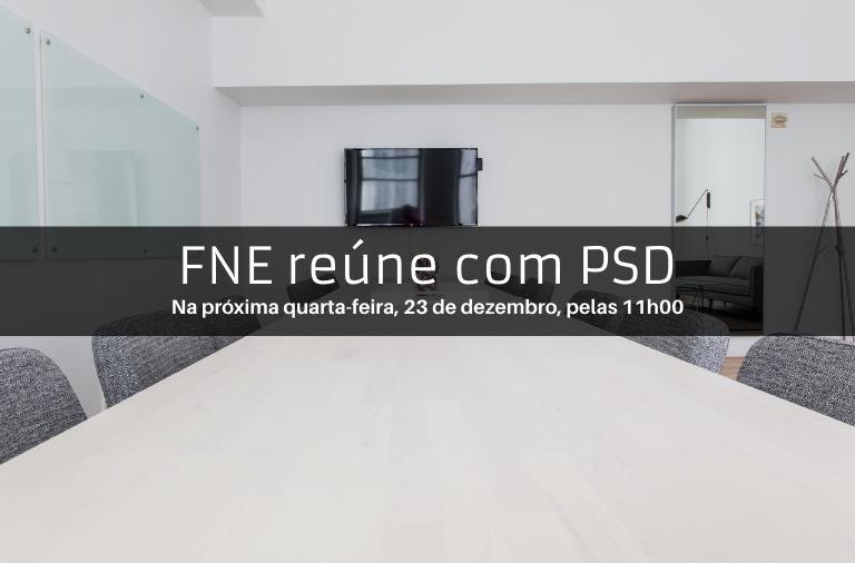 FNE reúne com Rui Rio