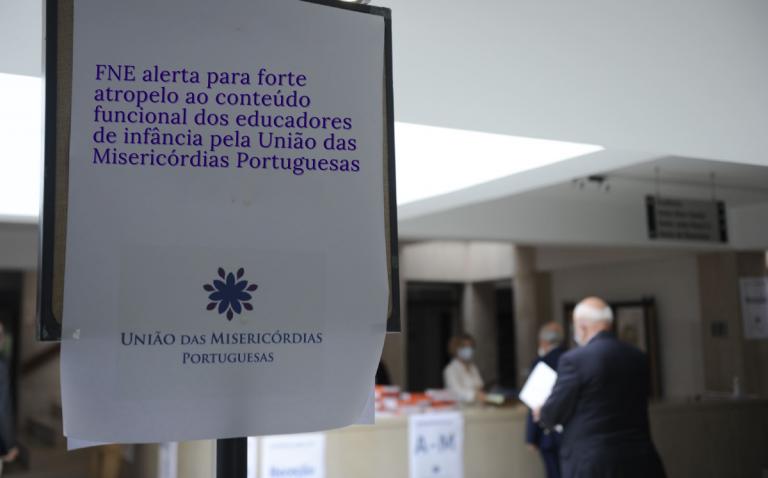 FNE alerta para forte atropelo ao conteúdo funcional dos educadores de infância pela União das Misericórdias Portuguesas