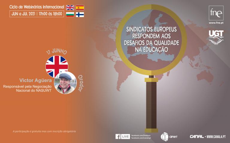 NASWUT (Reino Unido) responde aos desafios da qualidade na educação