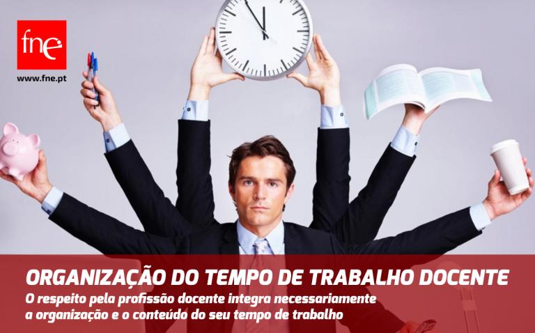 Organização do tempo de trabalho docente
