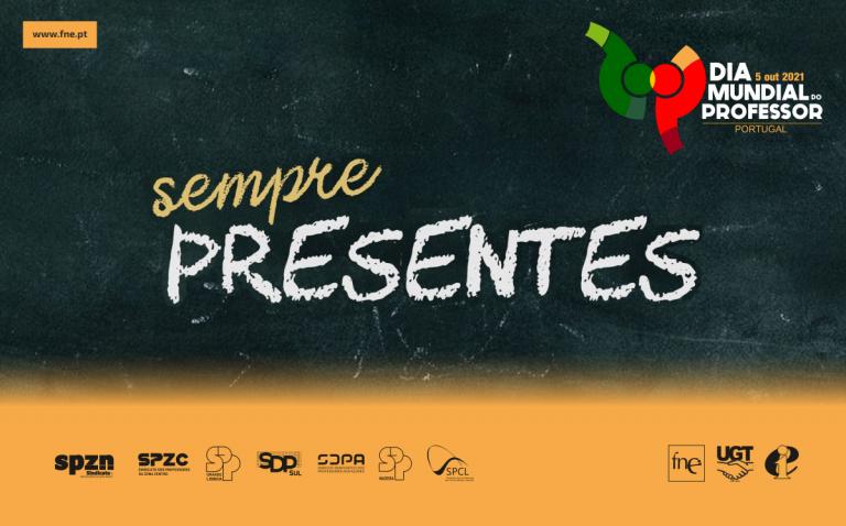 Iniciativas FNE no Dia Mundial do Professor