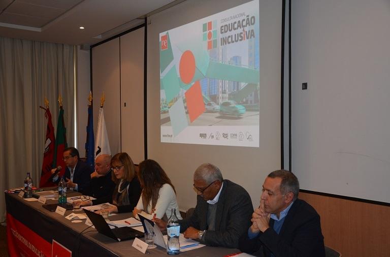 """João Dias da Silva, na apresentação da Consulta Nacional sobre Educação Inclusiva: """"Não há inclusão sem equidade"""""""