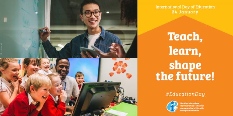 Dia Internacional da Educação: Ensinar, Aprender, Construir o Futuro